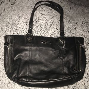 Authentic Coach Black Shoulder Bag